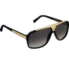 Louis Vuitton Men's Evidence Sunglasses. Reminiscent of the aviator style, the acetate frame of the modern and masculine Evidence sunglasses is sculpted and hand-polished. Louis Vuitton Men's Evidence Sunglasses    - 100% UV protection  - Sculpted and hand-polished acetate frames  - Matching graded lenses  - Bridge and tips enhanced with a metal inlay. PRODUCT ID Z0350W    Graphite : NOIR    $675.00    Louis Vuitton Mens Evidence Sunglasses 4