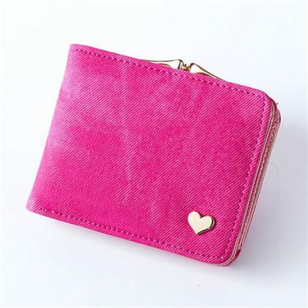 New Woman Wallet Small Hasp Coin Purse For Women Luxury Leather Female Wallets Design Brand Mini Lady Purses Clutch Card Holder