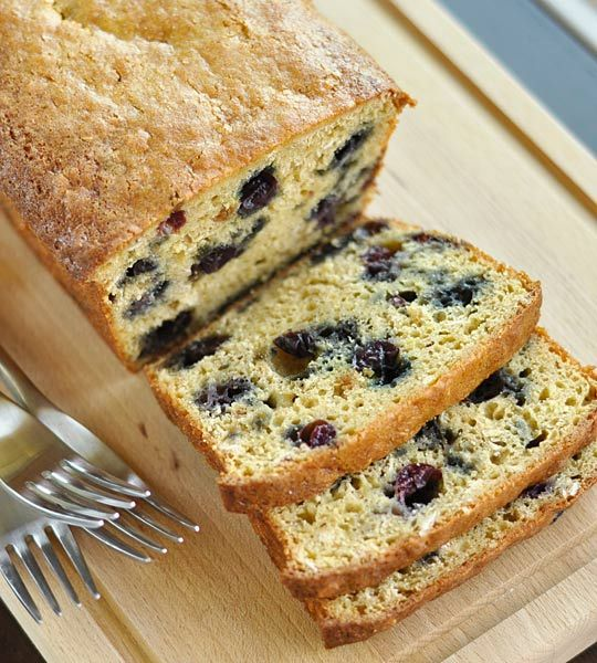 Blueberry-Oat Quick BreadBreads Recipe, Quick Breads, Blueberry Oats Quick, Blueberries Loaf, Blueberries Breads, Bread Recipes, Blueberries Oatmeal Breads, Blueberries Oats Quick, 2012 06 04 Blueberryloaf3 Jpg