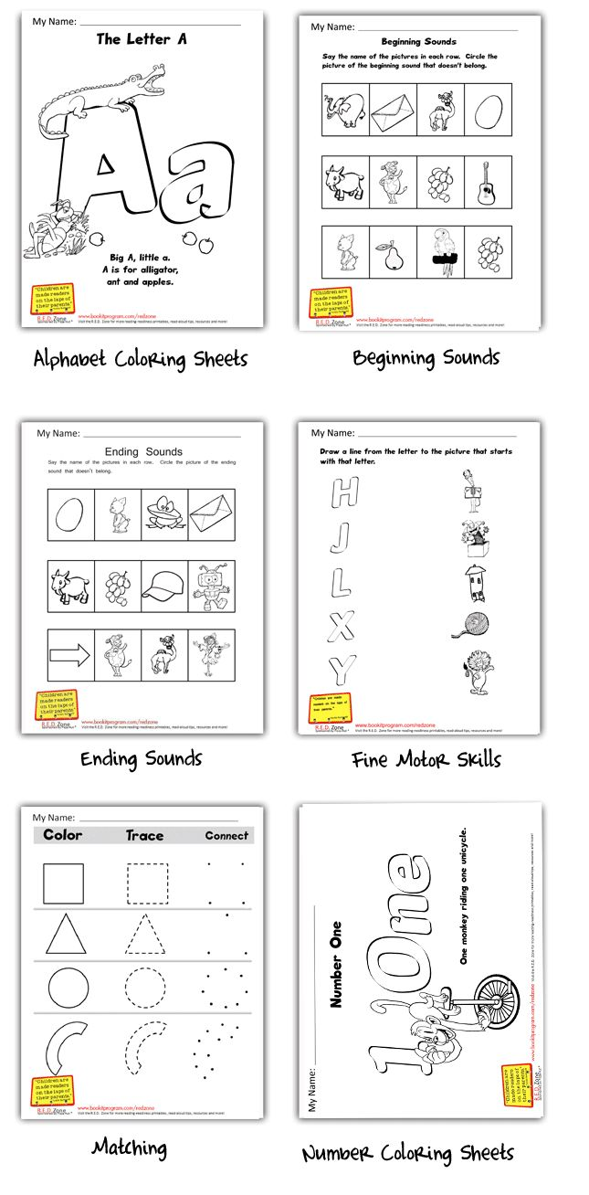 Pizza lessons and a pizza coloring page printable - Pre Reading Worksheets R E D Zone Pizza Hut Book It Abc Coloring Pagesdaycare