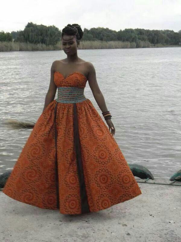 South African designer, wedding dress