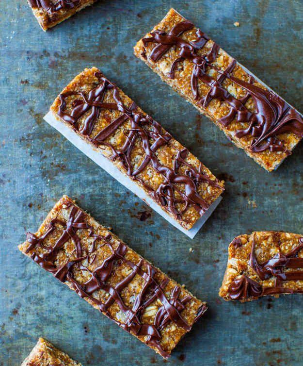 No-Bake Sunflower Seed Butter Granola Bars