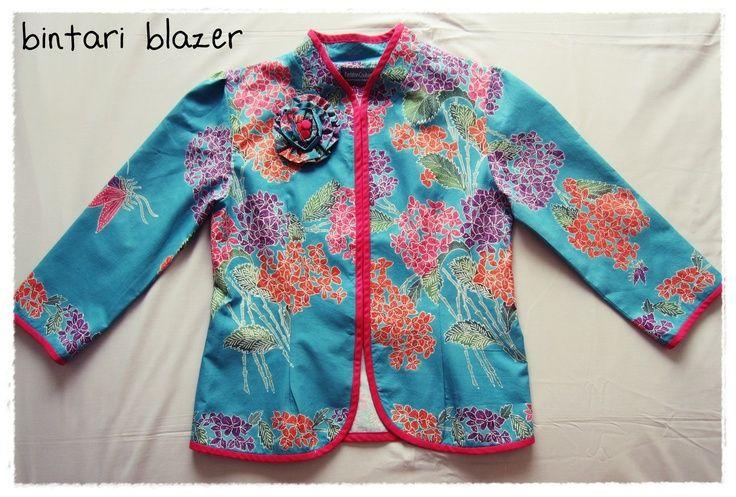 Bright batik will shine your day!