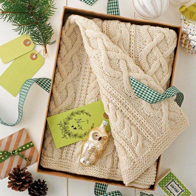 plaid laine bébé