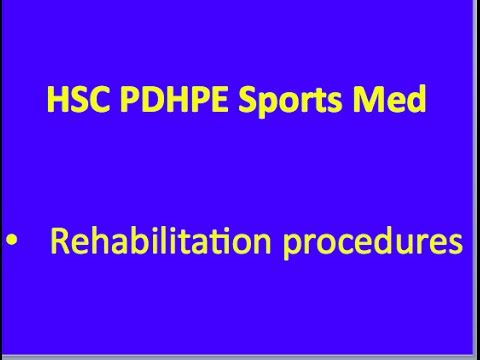 HSC PDHPE Sports Medicine - Hard Tissue Injuries - YouTube