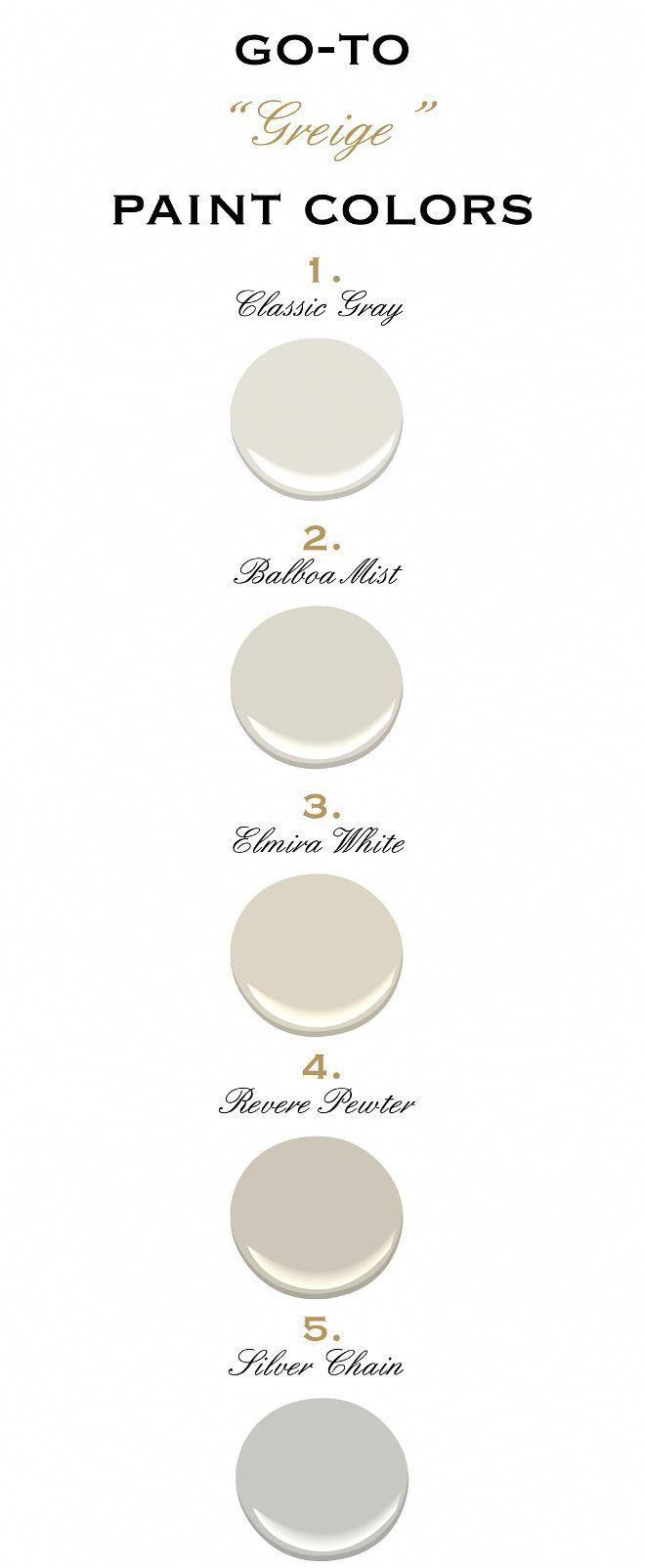 Top greige paint colors by benjamin moore benjamin moore classic