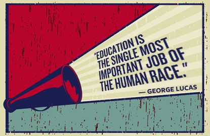Important words of wisdom for this 4th of July from our founder, George Lucas.