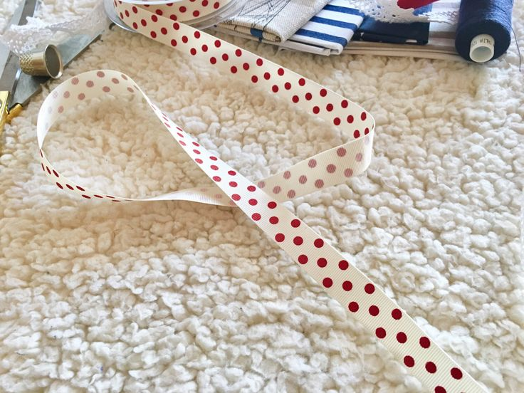 A personal favorite from my Etsy shop https://www.etsy.com/listing/494887740/1-metre-red-polka-dots-pattern-ribbon