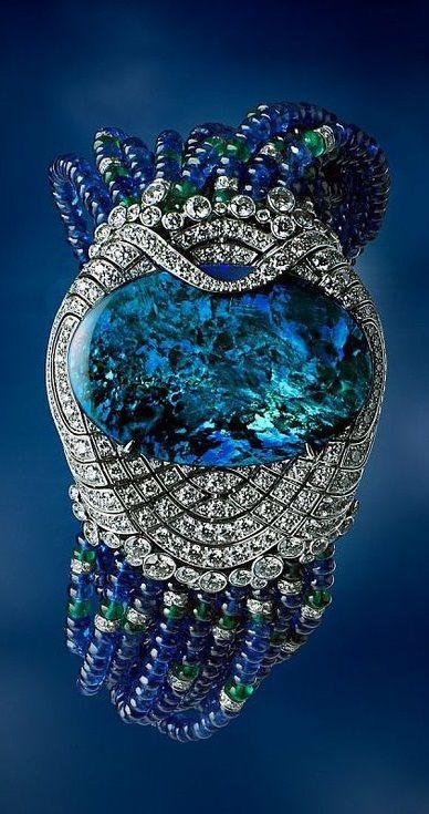 Cartier - Opal bracelet.