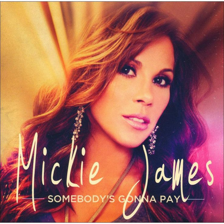Mickie James - Somebody's Gonna Pay (CD)