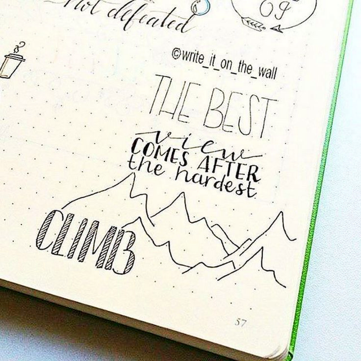 Super awesome lettering calligraphy ideas