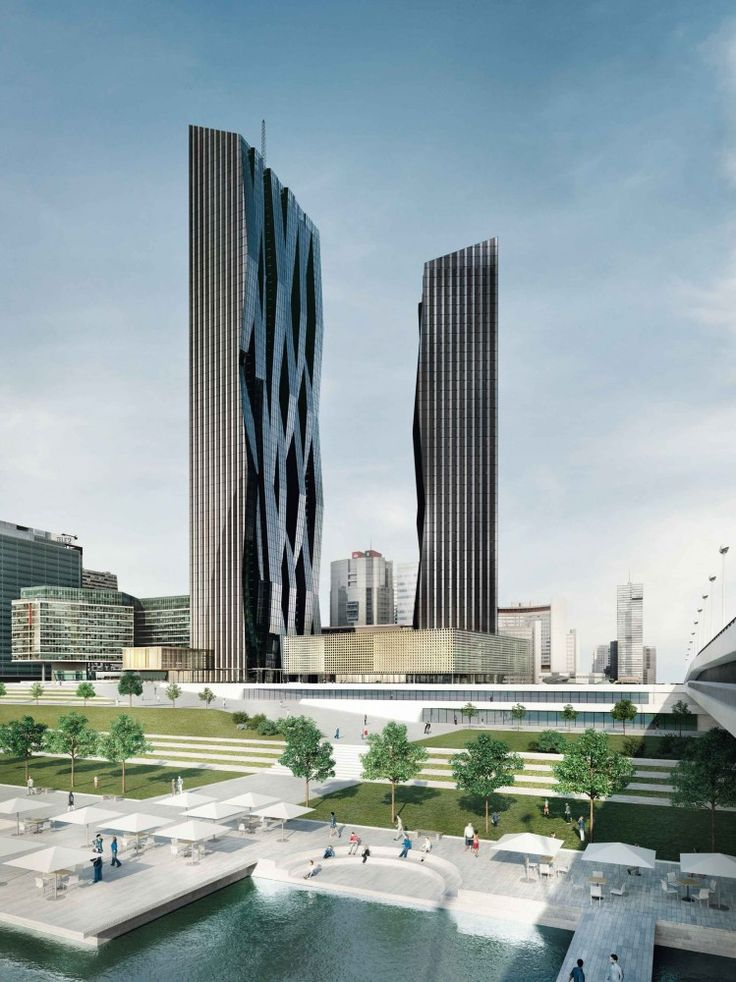 DC Towers I   II / Dominique Perrault Architecture