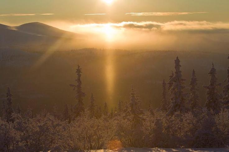 Good morning from #Lofsdalen, a small mountain village in Härjedalen #Sweden.
