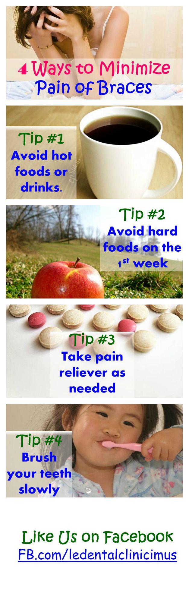 4 Ways to Minimize Pain of Braces  Learn more   https://www.facebook.com/ledentalclinicimus