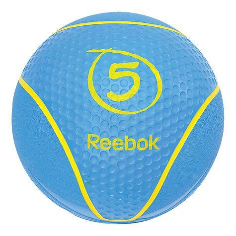 Reebok Medicine Ball, Blue, 5kg