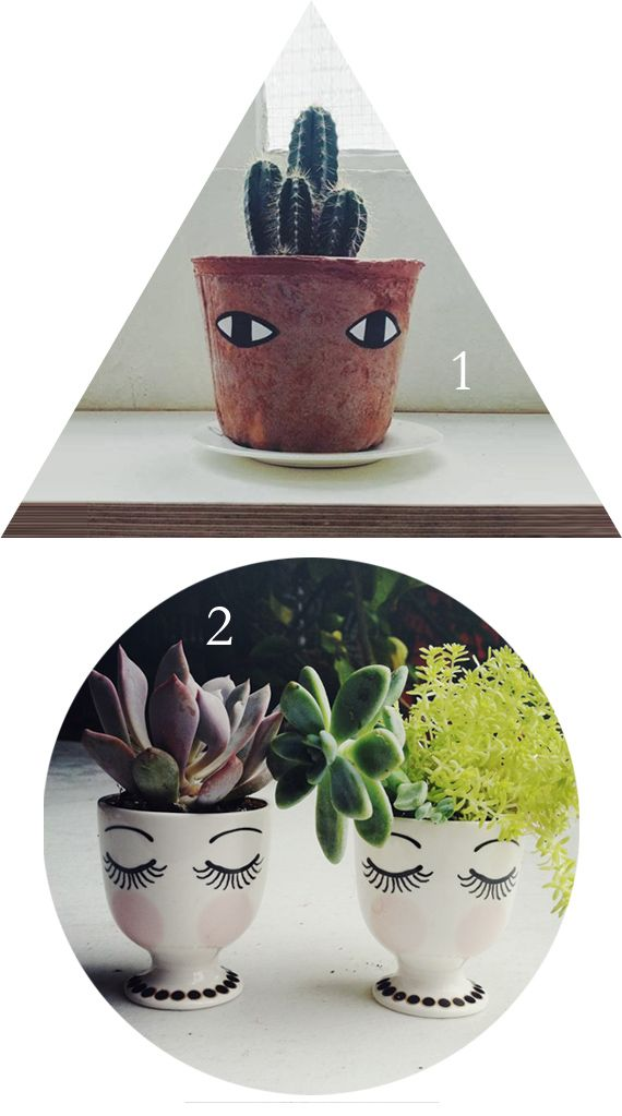 I am quite in love with faces on plant pots. I think it's time to dig out the Sharpies! I do hope you've...
