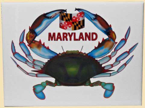 Maryland Home Decor-Blue Crab Decor