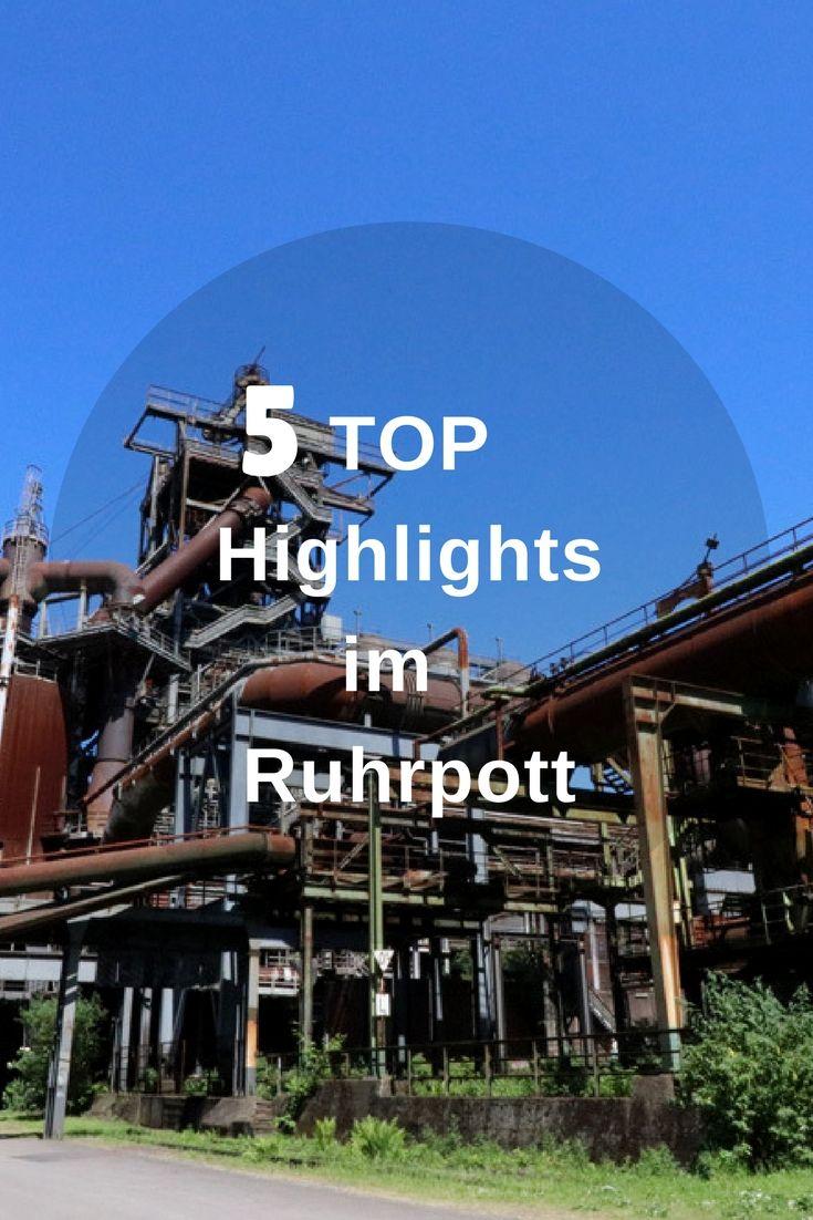 Die 5 Top Highlights im Ruhrgebiet
