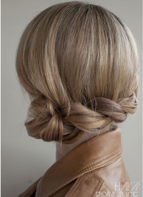 Low Dutch Braid Bun