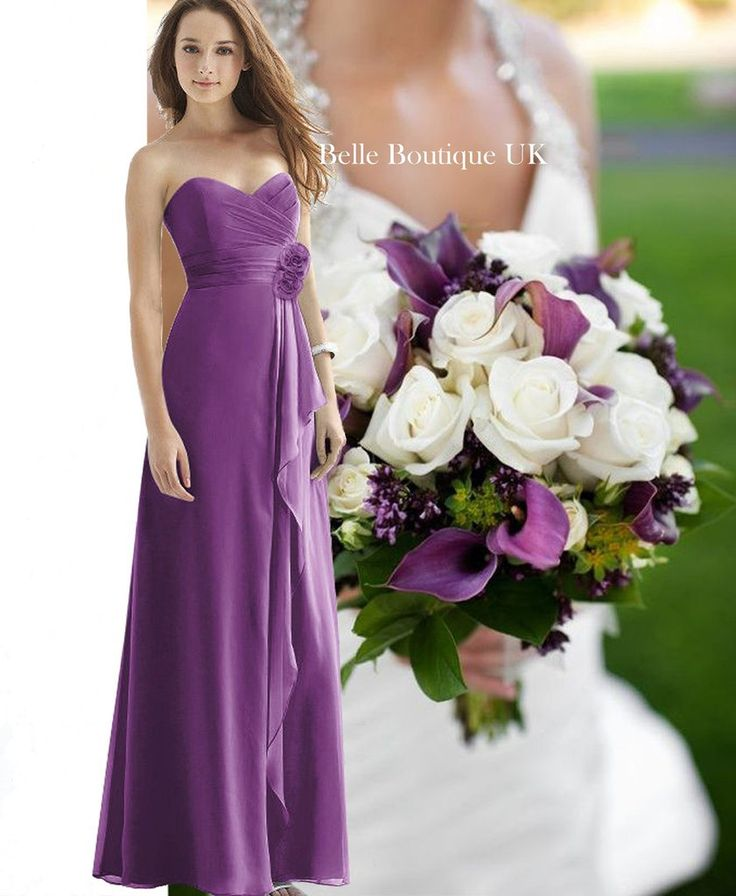25 best Purple & Lilac Bridesmaid Dresses images on Pinterest ...