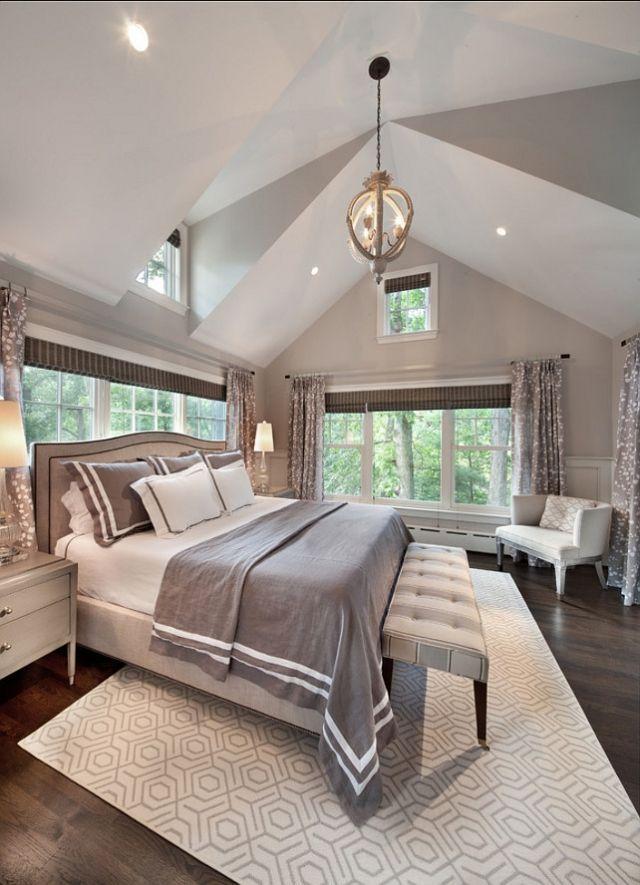 master bedroom soothing grey