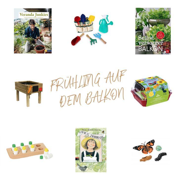 Frühling entdecken und Gärtner für Kinder auf Balkon, Terrasse und im Garten. Pflanzen, Lebenszyklen, Sinnesgläser nach Montessori