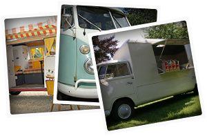 Retro VW busjes - mobiel café voor feestjes
