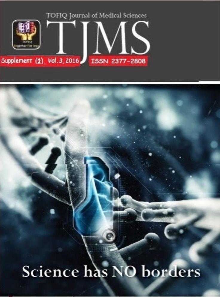 Tofiq journal of medical sciences (tjms) supplement, 2 (2016)