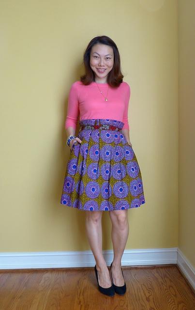 Anthro helios batik skirt.