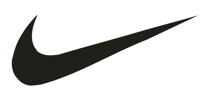 Nike logo by Carolyn Davidson. 1971.