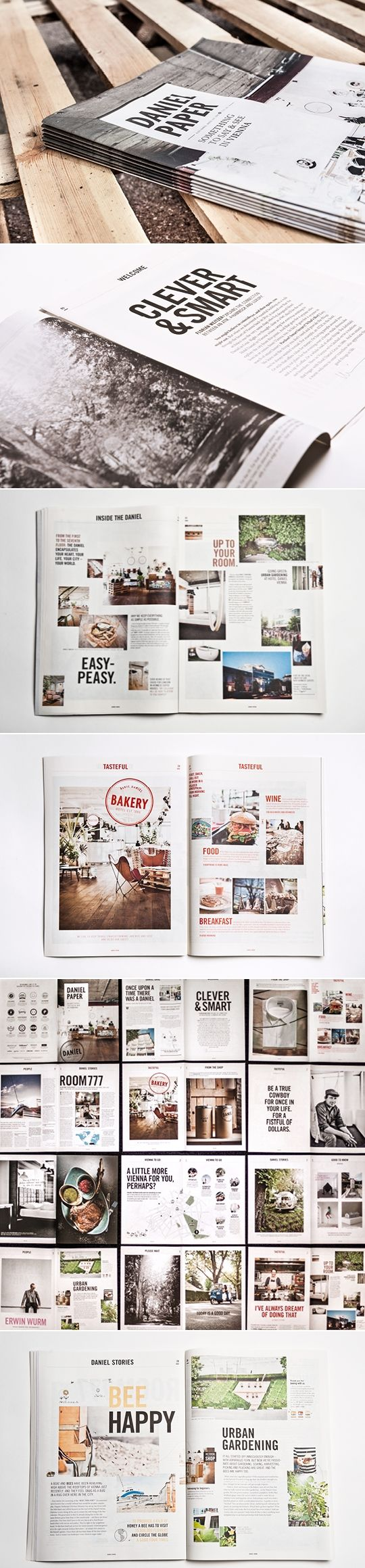 print design / editorial | Daniel Paper #layout #design #magazine