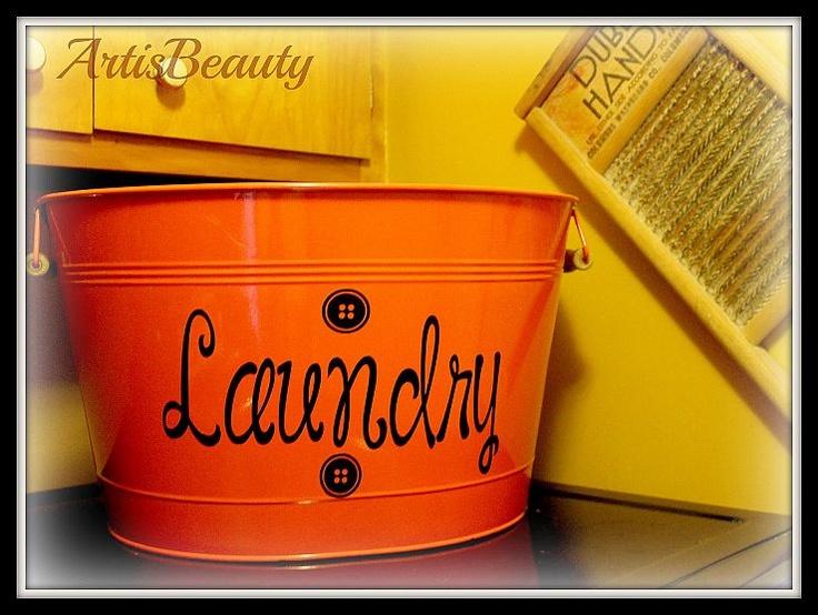 M s de 25 ideas incre bles sobre diy laundry bins en pinterest cesta de lavadero haus y - Lavadero easy ...