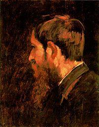 Munkácsy Mihály: Paál László portréja (1877)  Paál László:1846-1879