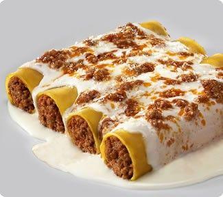 Canelones de carne//el almuerzo de hoy :D