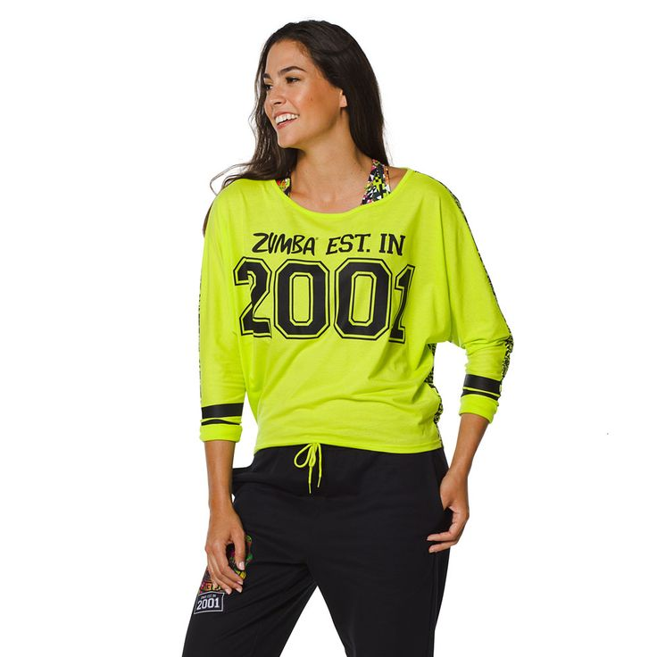 Team Zumba Dolman Top - Zumba Green