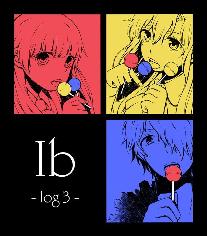 Ib (game) Fanart Ib, Garry and Mary