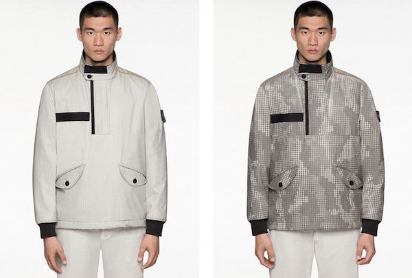 Stone Island's 'Ice Jackets' Change Patterns When Worn In Frosty Weather - DesignTAXI.com