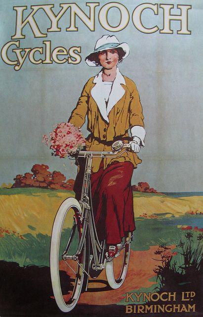 Vintage Bicycle Posters: Kynoch Cycles, via Flickr.