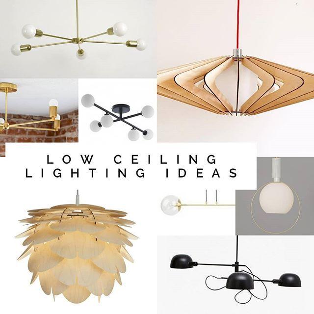 Low Ceiling Lighting Ideas Low Ceiling Lighting Ceiling Lights