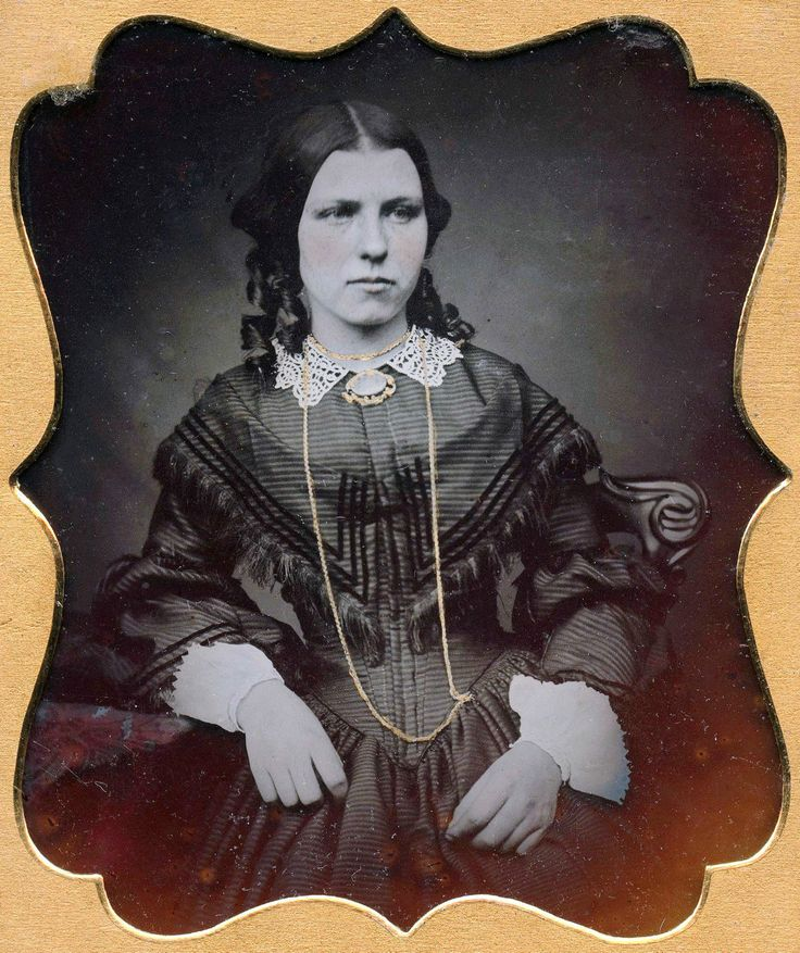 1 6 Plate Ambrotype Photo Portrait Pretty Young Woman Unusual Case | eBay