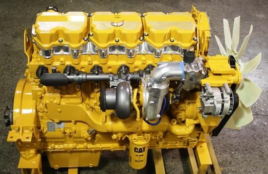 Caterpillar 3406E 1MM 2WS Engine Disassembly Assembly Shop