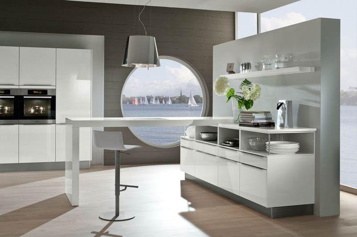 26 best Kitchens   Cocinas images on Pinterest Contemporary unit - häcker küchen münchen