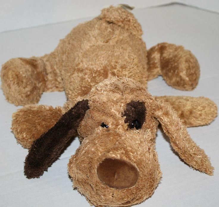 Walmart Dog Plush Brown Spot Eye Ear Stuffed Animal Puppy