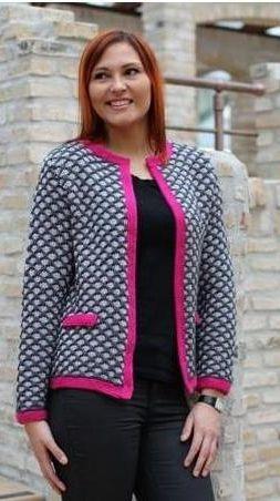 Strikkeopskrift: Strik en smuk jakke | Familie Journal