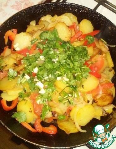 Жареный картофель по-азербайджански ингредиенты