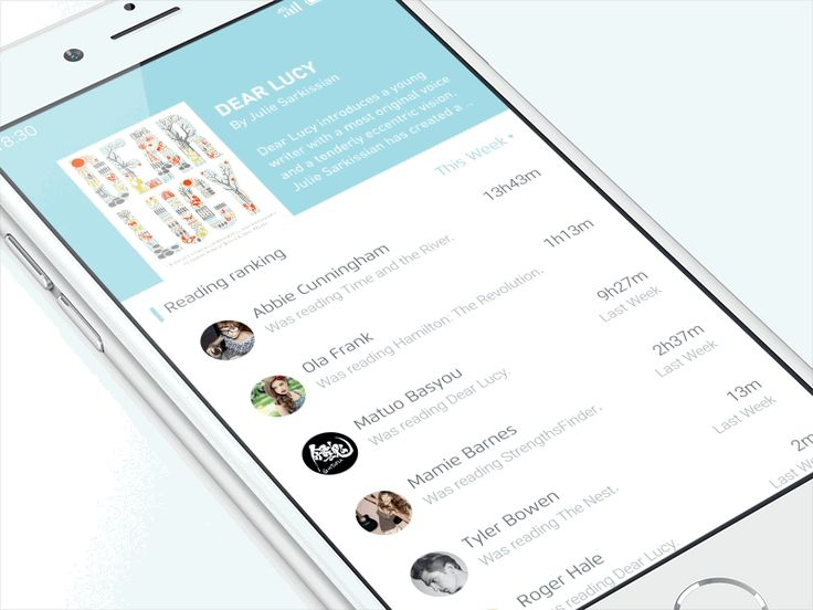 Weread redesign - UI Movement