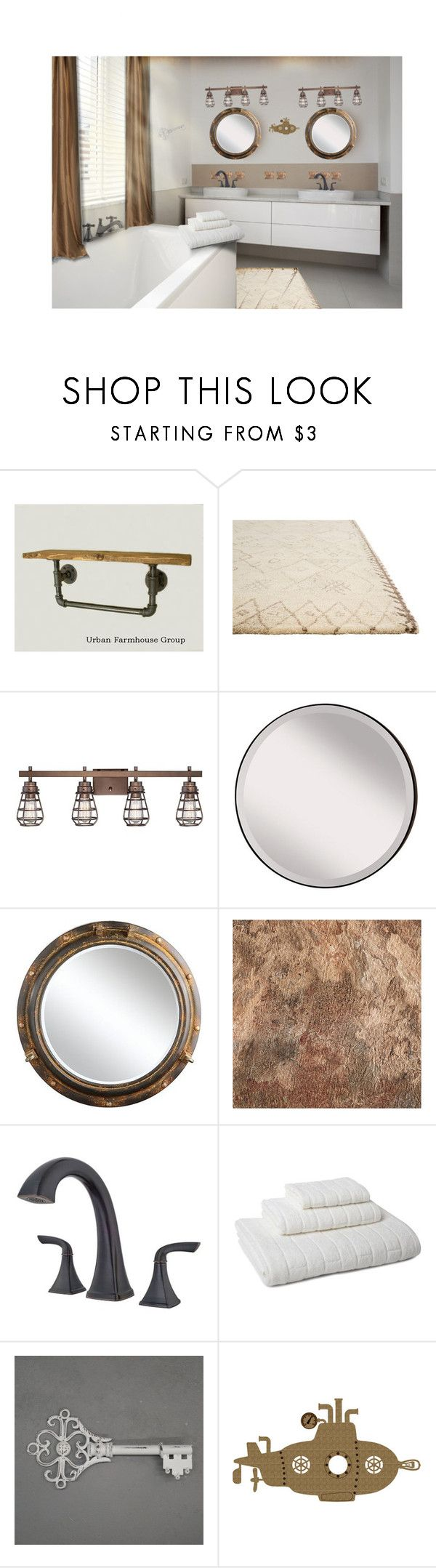 Welcome to the surreal steampunk apartment where jules verne meets tim -  Steampunk Bathroom By Havingsomefun Liked On Polyvore Featuring Interior Interiors Interior