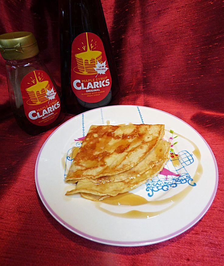 Chez Maximka: Pancakes with apricots and mascarpone #MapleVLemon