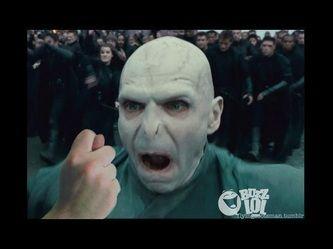I said: Voldemort I got your nose !  Voldemort : aaarrrggg *****!!!!!!
