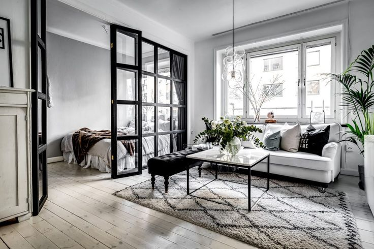 Cómo crear un dormitorio adicional en 42m2?